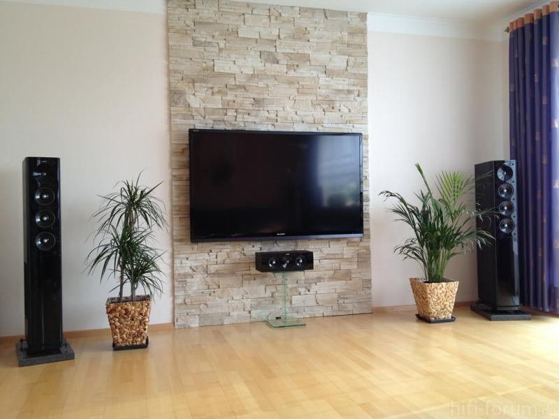 Wohnzimmer Tv Wand Ideen Bescheiden On Beabsichtigt Amocasio Com 2