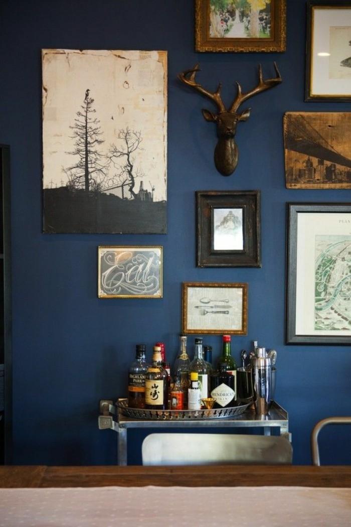 Wohnzimmer Wandfarbe Blau Ausgezeichnet On Auf Home Design Ideas 2