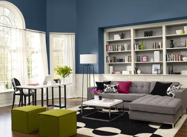 Wohnzimmer Wandfarbe Blau Interessant On Beabsichtigt Best Images Globexusa Us 7