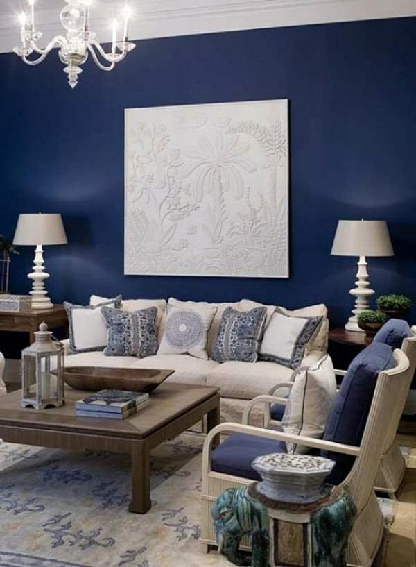 Wohnzimmer Wandfarbe Blau Stilvoll On Und Wandfarben Fürs 100 Wohnideen Für Ihre Wandgestaltung 3