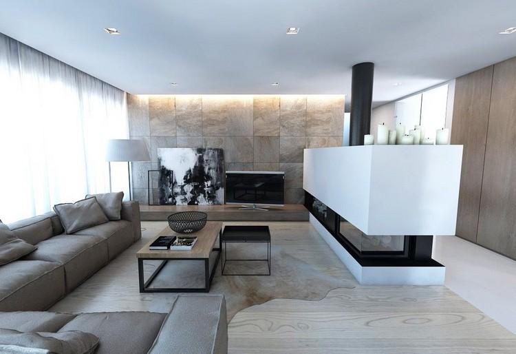 Wohnzimmer Wandgestaltung Erstaunlich On Beabsichtigt Im 85 Ideen Und Beispiele 5