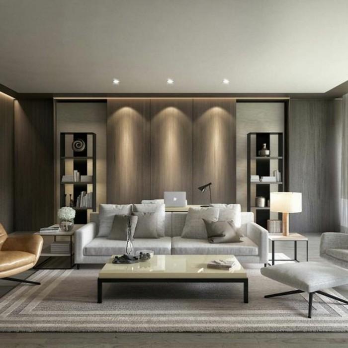 Wohnzimmer Wandgestaltung Farbe Bescheiden On Für 120 Ideen Archzine Net 3