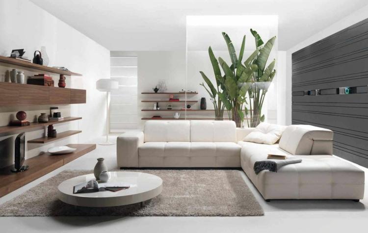 Wohnzimmer Weiß Grau Imposing On Innerhalb Einrichten Ideen In Schwarz Und 9