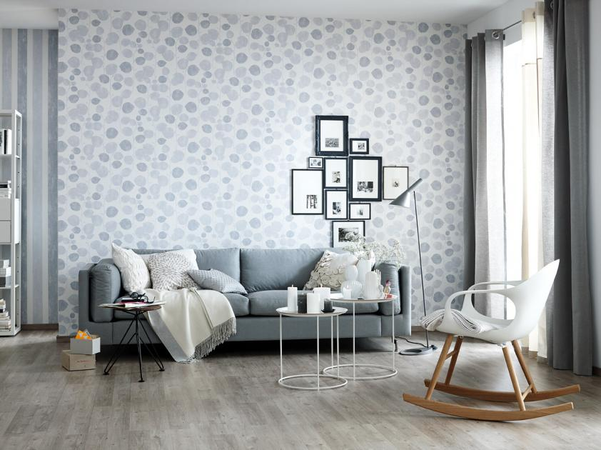 Wohnzimmer Weiß Grau Perfekt On In Fotostrecke Ein Klassichem Gestalten 6