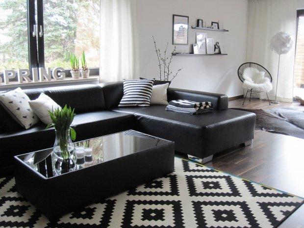 Wohnzimmer Weiß Schwarz Nett On In Bezug Auf Cool Grau 1483 3