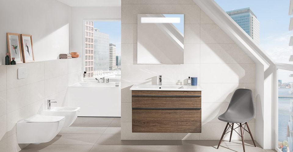 Zeitgenössisch On Badezimmer In Bezug Auf Bad Mit Dachschräge Raum Clever Nutzen Villeroy Boch 7