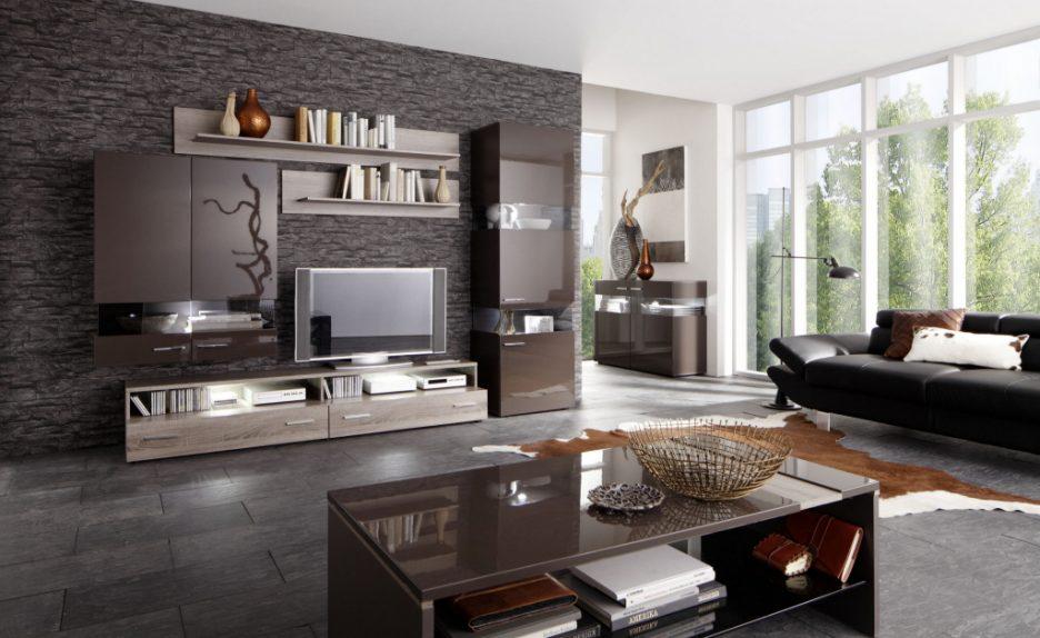 Zimmer Braun Grau Modern On In Innenarchitektur Kühles Wohnzimmer Weiss 2