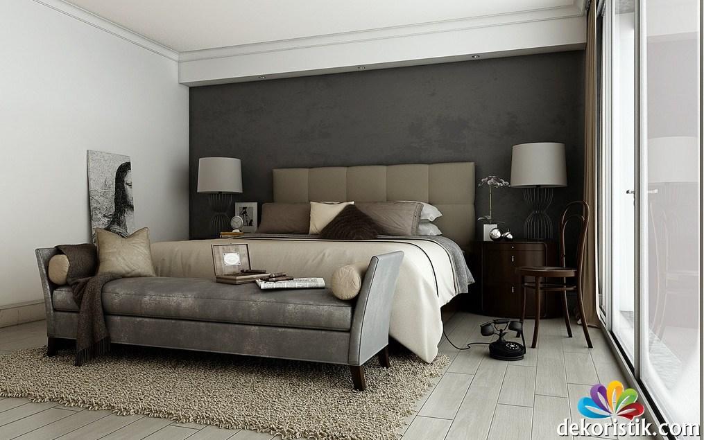 Zimmer Braun Grau