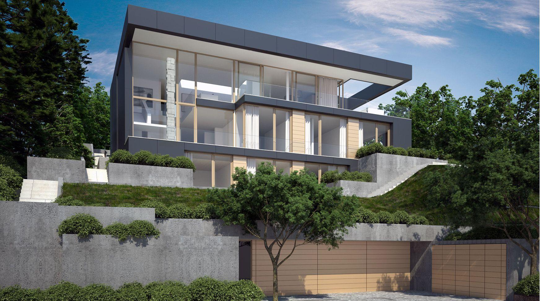 Architektur Wohnhaus Fuchs Und Wacker Beeindruckend On Andere Auf Projekt Haus Am Hang Stuttgart Architekten Bda 9