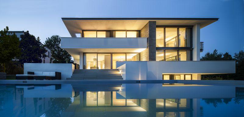 Architektur Wohnhaus Fuchs Und Wacker Interessant On Andere In Haus Modern Fur Luxushaus Wohndesign Mit Poolhaus Jmc 8
