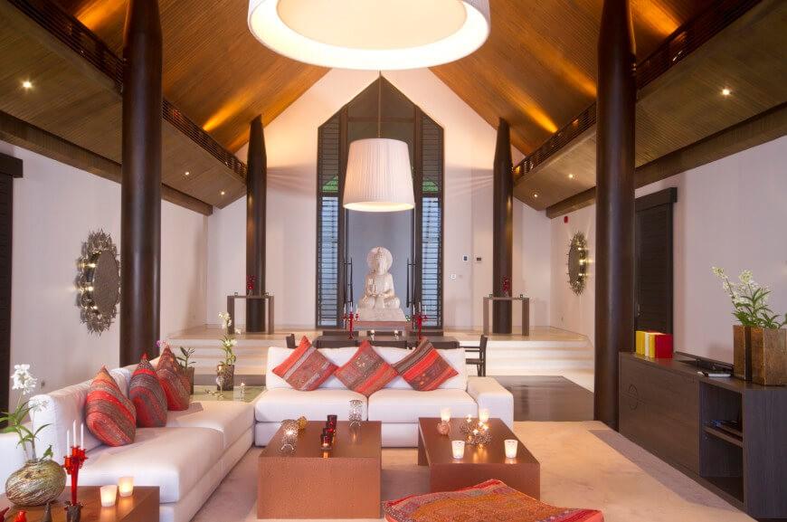 Asiatisches Wohnzimmer Ausgezeichnet On In Bezug Auf 14 Atemberaubende Asiatische Ideen Home Deko 4