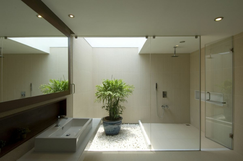 Bad Deko Modern Erstaunlich On überall Badezimmer Einrichten 31 Inspirierende Bilder 4