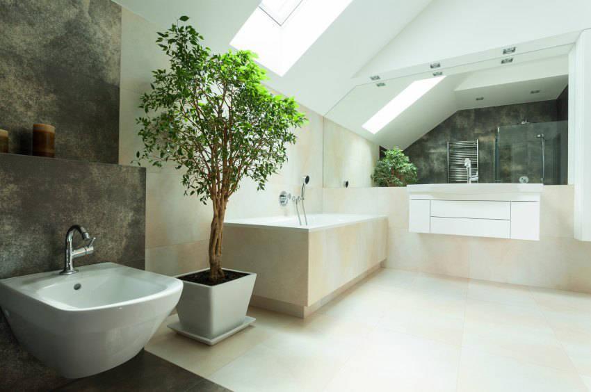 Badezimmer Dachschräge Bemerkenswert On Innerhalb Bad Mit Gestalten Die Besten Ideen 8