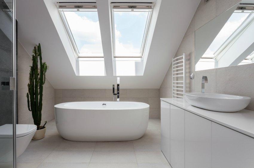 Badezimmer Dachschräge Exquisit On überall Bad Mit Gestalten Die Besten Ideen 3