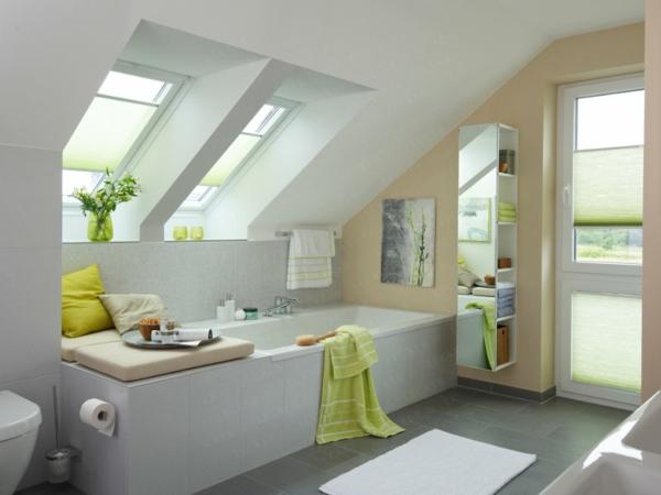 Badezimmer Dachschräge Stilvoll On Und 27 Design Ideen Für Mit 5