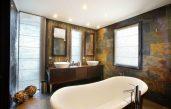 Badezimmer Modern Rustikal