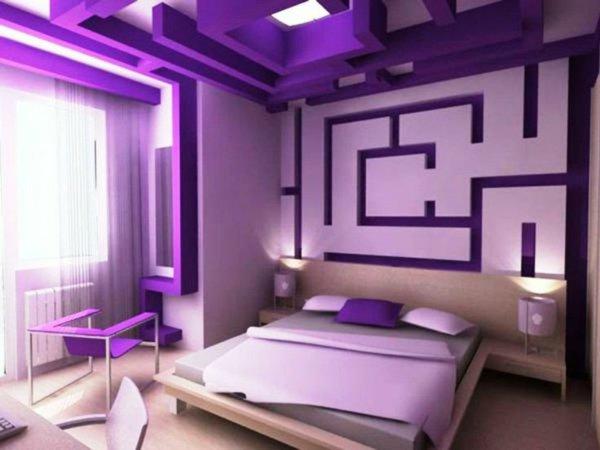 Beispiele Wandfarbe Lila Wohnzimmer Charmant On Für Unglaublich Wandfarben Design 8