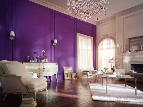 Beispiele Wandfarbe Lila Wohnzimmer Einzigartig On Und Für Tolles Robelaundry Com 6