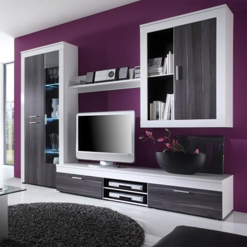 Beispiele Wandfarbe Lila Wohnzimmer Herrlich On Innerhalb Interessant Wohndesign 2