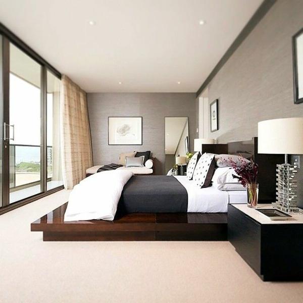 Bilder Von Modernen Schlafzimmern Interessant On Modern In Moderne Schlafzimmer For Badezimmer Designs Gestalten 9