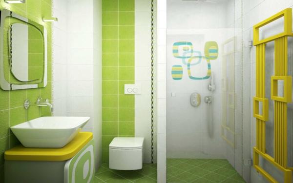 Bodenfliesen Bad Gruen Großartig On Andere Und Modern Fliesen Grün Badezimmer Modernste Auf Mit Home Design 4