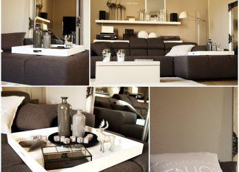 Deko Für Wohnzimmer Ausgezeichnet On In Möbel Set Kleines Einrichten Ideen 8