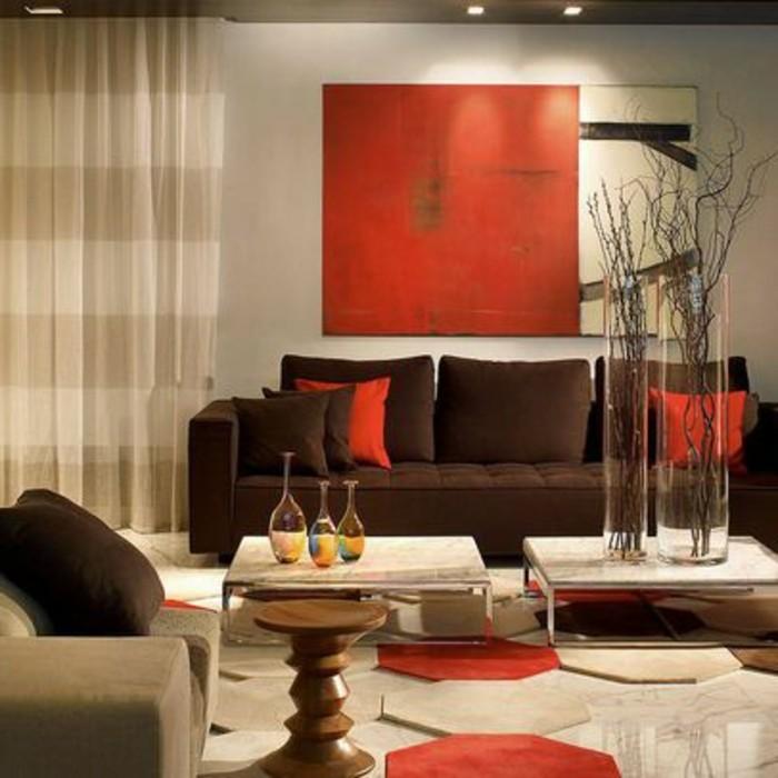 Dekoartikel Wohnzimmer Modern On In Bezug Auf Hervorragend Rot 4149 3