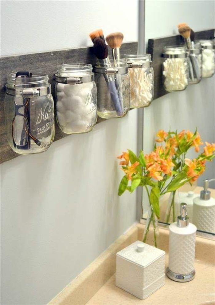Dekoration Wohnen Ideen Imposing On Auf Badezimmer Kreative Entscheidung Einmachgläser Accessoires 8