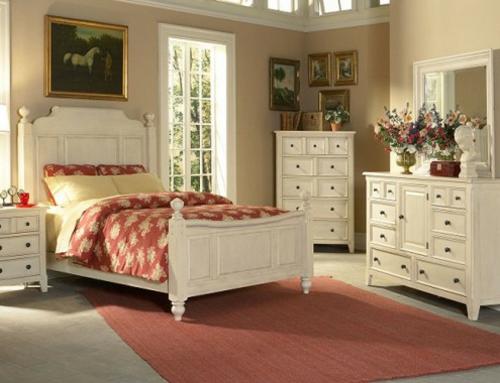 Dekorieren Im Landhausstil Schlafzimmer Modern On Innerhalb 12 Ideen Romantische Einrichtung 6