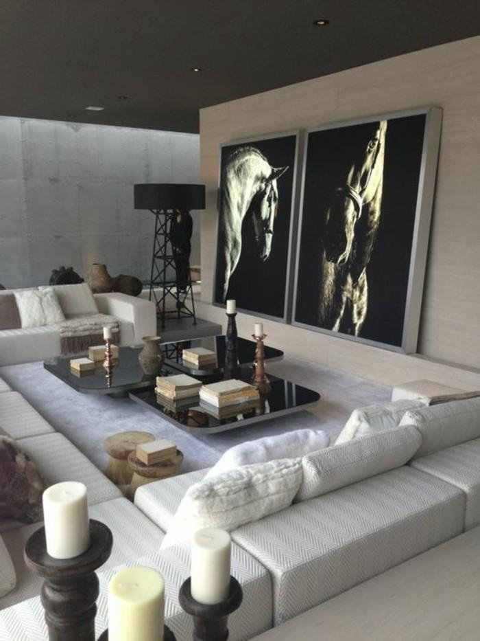 Dekorieren Modern Schön On Mit Wohnzimmer Exklusive Deko Für Beabsichtigt 4