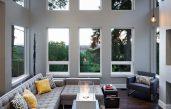Design Wohnzimmer Grau