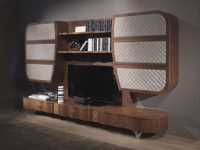 Designer Fernsehwand Holz Modern On Andere Beabsichtigt Uncategorized Ehrfürchtiges Und 8