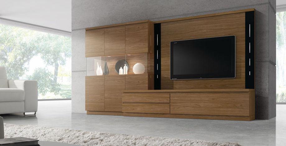 Designer Fernsehwand Holz