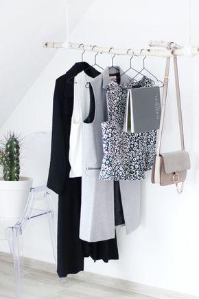 Diy Garderobe Einfach On Andere Für DIY Aus Birkenstamm Wood Shabby And Future 2