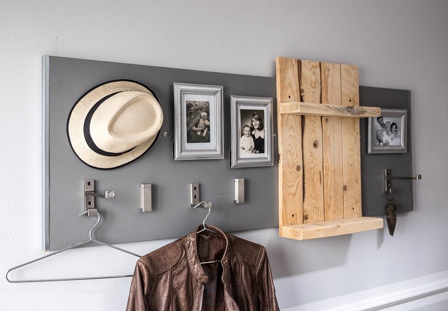 Diy Garderobe Exquisit On Andere Beabsichtigt Fim Works DIY Wie Du In Ein Paar Stunden Aus Gebrauchten Dingen 3