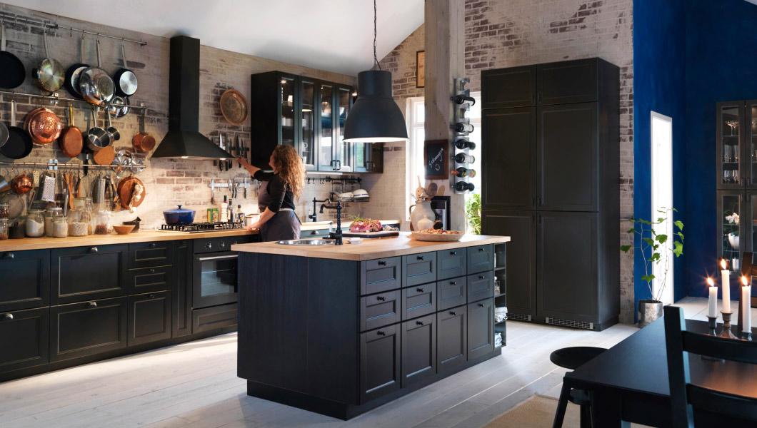 Dunkle Küche Einzigartig On Andere Für Küchen Inspiration Ideen IKEA AT 3