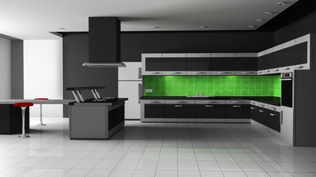 Dunkle Küche Fein On Andere Beabsichtigt Küchen Gestaltung Der Geheimnisvolle Charme Dunklen Farben 8