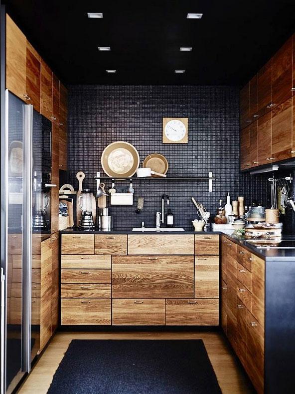 Dunkle Küche Frisch On Andere überall Moody Deko Ideen 2