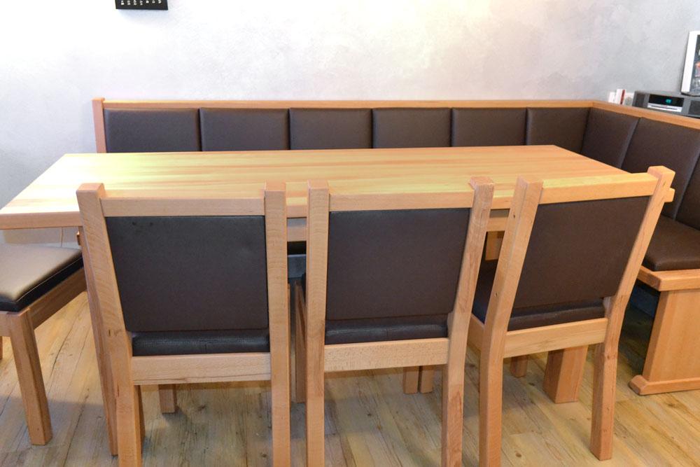 Eckbank Holz Modern Großartig On In Bezug Auf HOLZ SIGI Esszimmer 4
