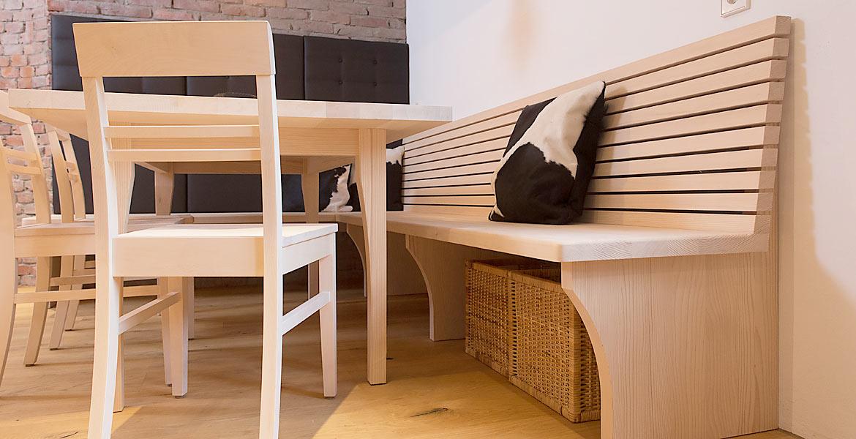 Eckbank Holz Modern Stilvoll On Mit Andere Design Fein Auf RuAway Com Auch 3