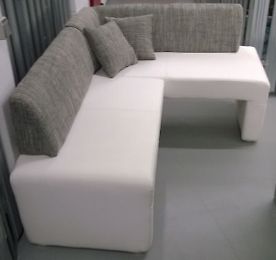 Eckbank Modern Weiß Grau Kreativ On Für Zusammen Mit Einfaches Küchen Dekorationen 8