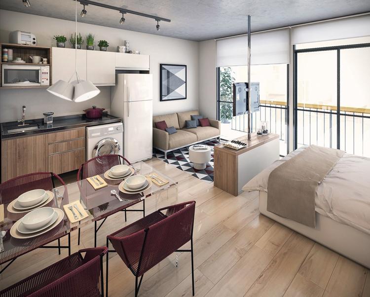 Einraumwohnung Beeindruckend On Ideen Für Kleine Wohnung Einrichten 30 Optimale Raumnutzung 3