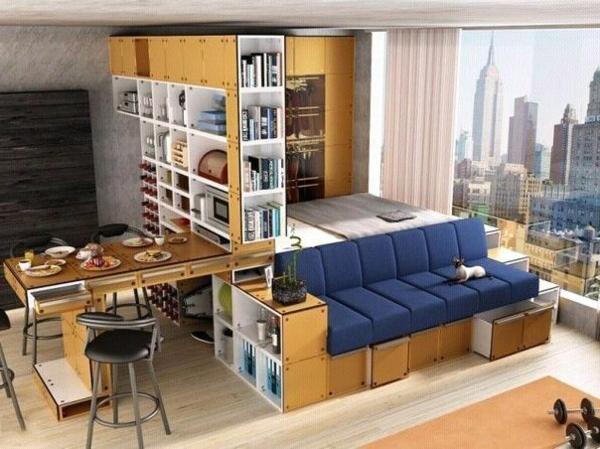 Einraumwohnung Imposing On Ideen In Bezug Auf Unglaublich 1 Zimmer Wohnung Einrichten 13 2
