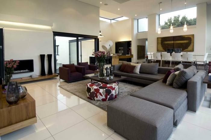 Einrichten Wohnzimmer Bemerkenswert On Innerhalb Modern 59 Beispiele Für Modernes Innendesign 7