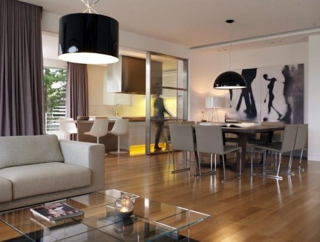 Essbereich Im Wohnzimmer Modern On überall Awesome Dekovorschlage Contemporary 6