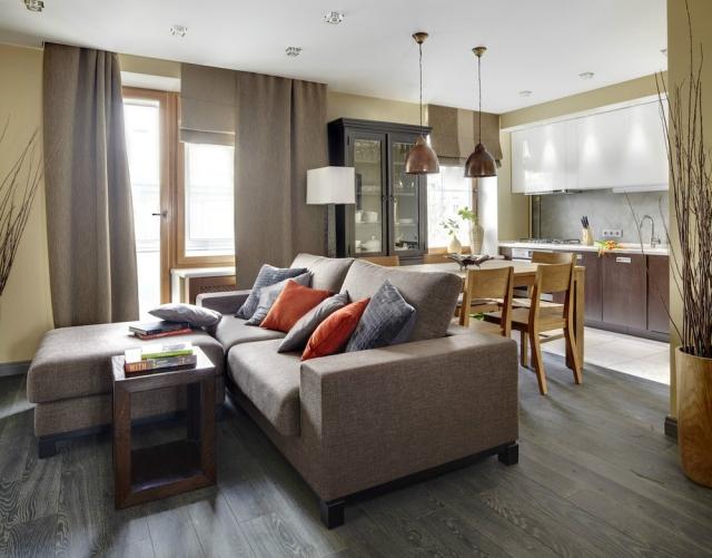 Essbereich Im Wohnzimmer Zeitgenössisch On Mit 30 Dekovorschläge Für 4