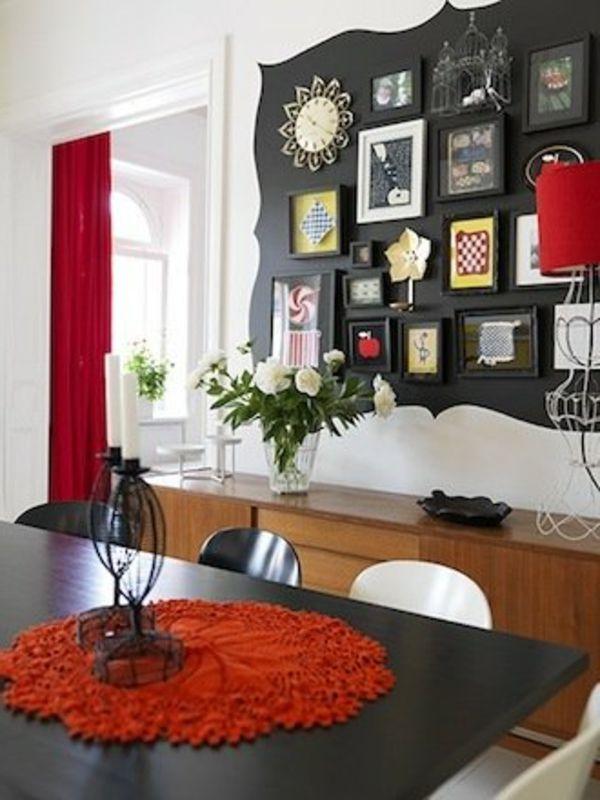 Essecke Streichen Ideen Einfach On Beabsichtigt Fur Esszimmer Wandfarbe Idee Modern 4