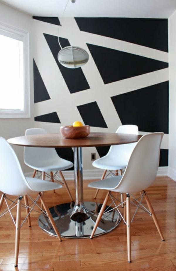 Essecke Streichen Ideen Perfekt On Und Fur Esszimmer Wandfarbe Idee Modern 5