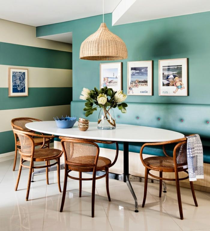 Essecke Streichen Ideen Schön On Beabsichtigt Fur Esszimmer Wandfarbe Idee Modern 7