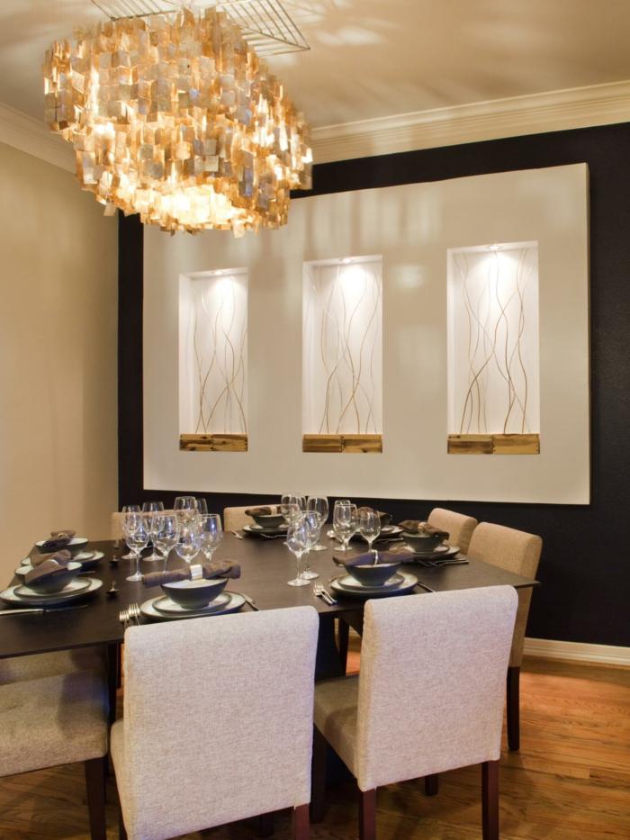 Esszimmer Gestalten Wände Perfekt On Andere Mit Wandgestaltung Speisezimmer Modern Innerhalb Wand 8